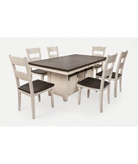 Modern Cottage 72D Dining Set