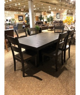 Modern Rustic 72-D Dining Set