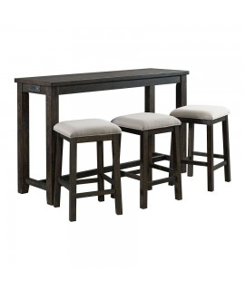 Wellington 4pc. Bar Table Set