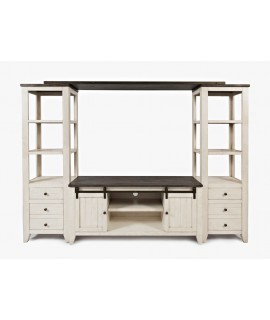 Allison Entertainment Center - Vintage White