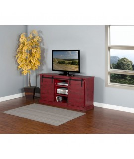 Anmoore Red TV Stand