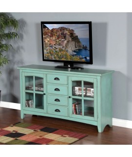 Galena Blue TV Stand