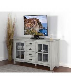 Galena White TV Stand