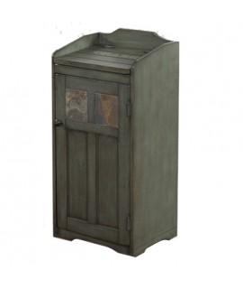 Tioga Green Trash Container