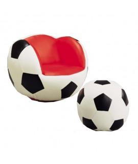 Soccer Chair & Ottoman