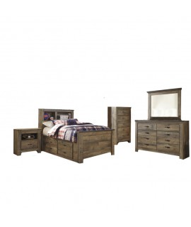 Maroa Twin Size Storage Bedroom Set