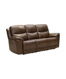 Arcadia Brown Power Reclining Sofa