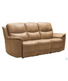 Arcadia Taupe Power Reclining Sofa