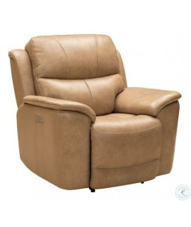 Arcadia Taupe Power Recliner