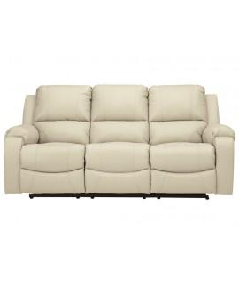 Bone Hyde Reclining Sofa
