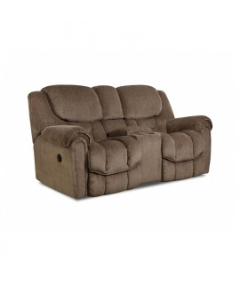 Chenille Reclining Loveseat