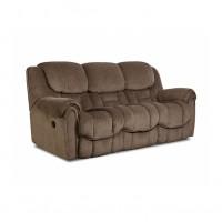 Chenille Reclining Sofa