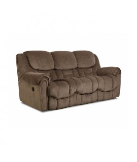 Chenille Power Reclining Sofa