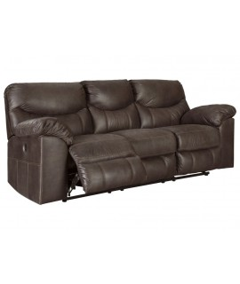 Coshocton Dark Power Reclining Sofa