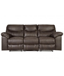 Coshocton Dark Reclining Sofa