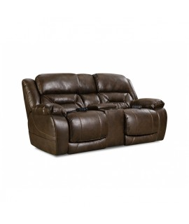 Dark Chocolate Power Reclining Loveseat