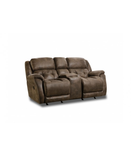 Harrison Dark Reclining Loveseat