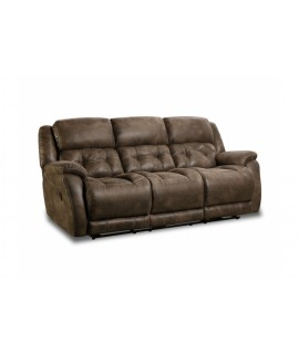 Harrison Dark Reclining Sofa