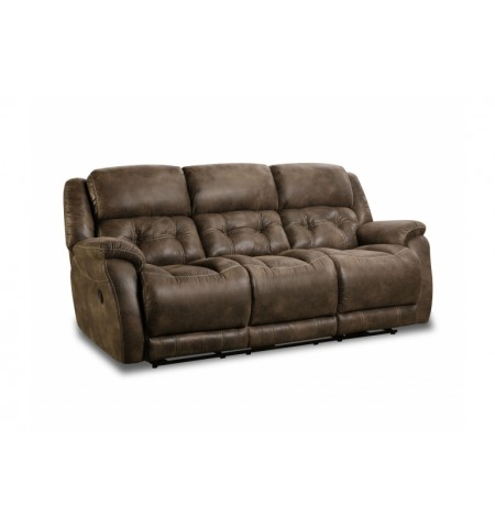 Harrison Dark Reclining Sofa