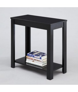 Steinbeck Black Chair Side Table