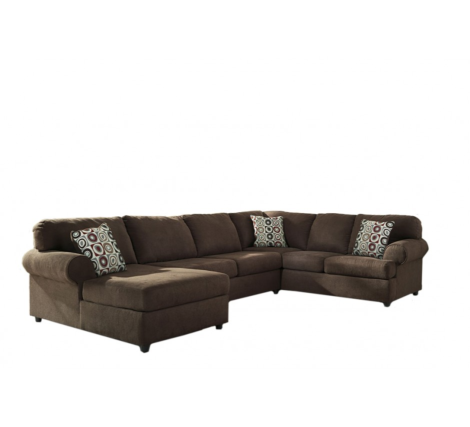 Charming Buck Brown Sectional