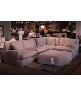 Canvas Comfort 4 pc. Sectional