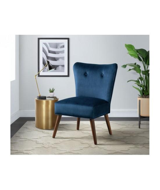Drexel Navy Accent Chair
