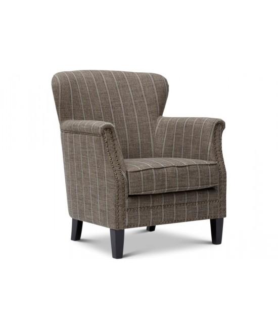 Kayla Mocha Accent Chair