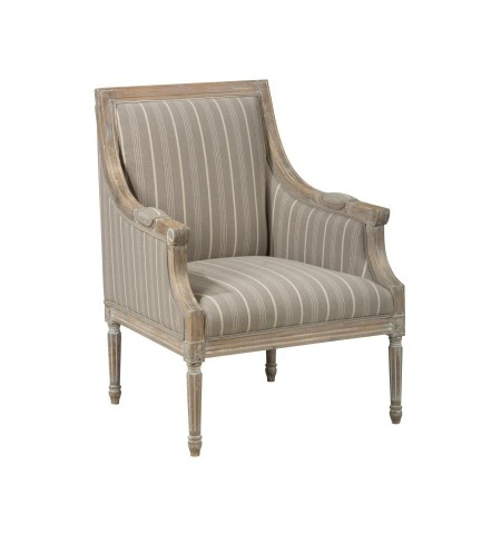 Kenna Taupe Accent Chair
