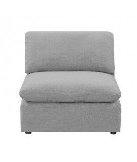 Lovesac Grey Armless Chair