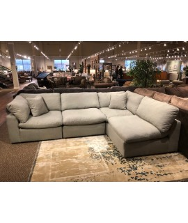 Lovesac Grey 4pc. Sectional