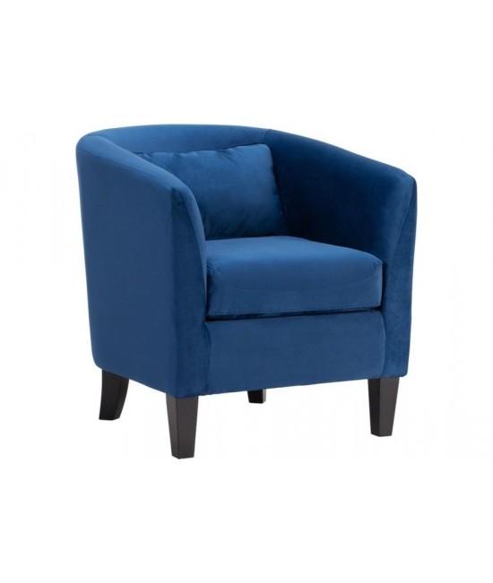 Mercer Navy Accent Chair