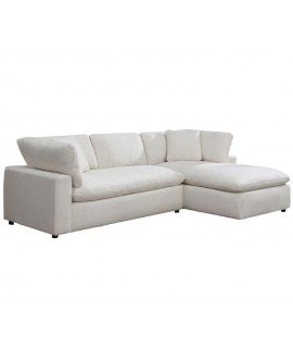 Soft Cotton 2pc Sectional
