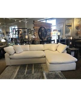 Soft Cotton Sofa Chaise