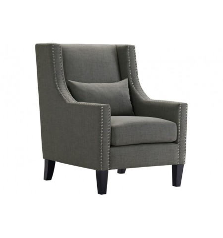 Willis Charcoal Accent Chair
