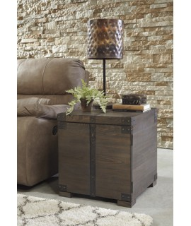 Burlan Storage End Table