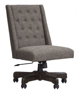 Graphite Swivel Desk Chair