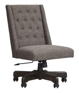 Graphite Swivel Desk Chair