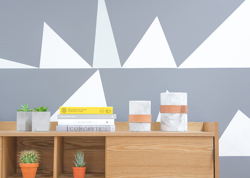 Create a Perfectly Balanced Accent Wall