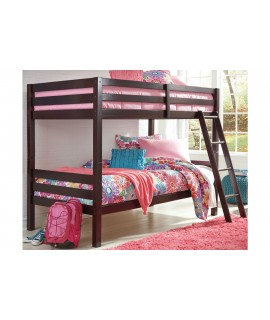 Woodsboro Twin over Twin Bunk Bed with Ladder